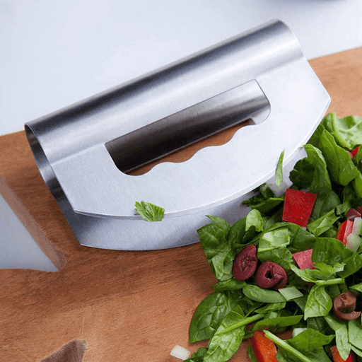 Stainless Steel Double Vegetable Cutter Salad Chopper Home & Kitchen SmartGear Factory