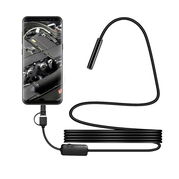 USB Endoscope Inspection Camera Kit for Smartphone - 7 PCS Phone Accessories SmartGear Factory