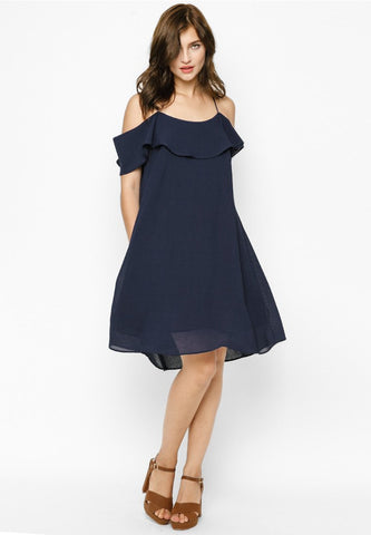 Ruffle Flare Dress