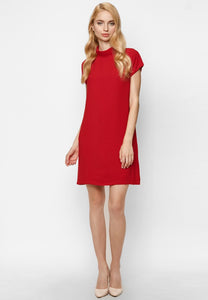 Mini Red Cutout Dress