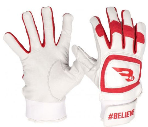 B45 Believe Red/White