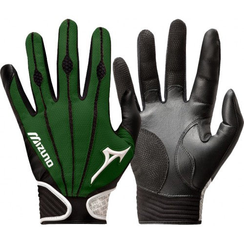 Mizuno Vintage Pro Youth Dark Green (pair)