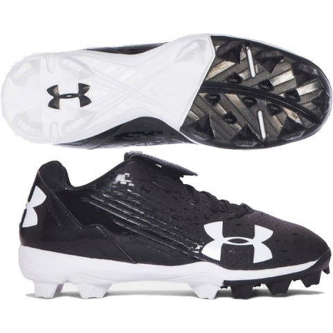 Under Armour MLB Switch Low Rubber Cleats: Black