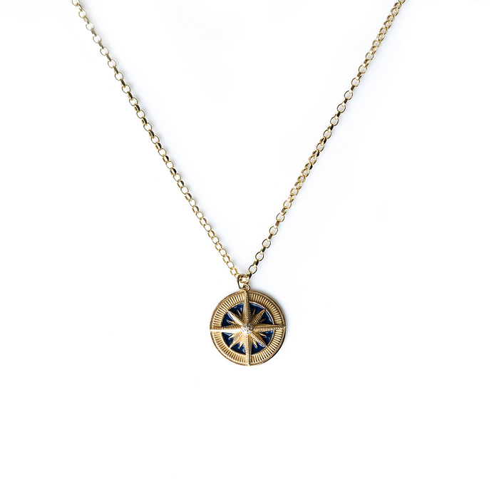 Compass Necklace*