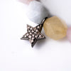 Limited Edition Pastel Quartz Beaded Bracelet with Double-sided Diamond Star