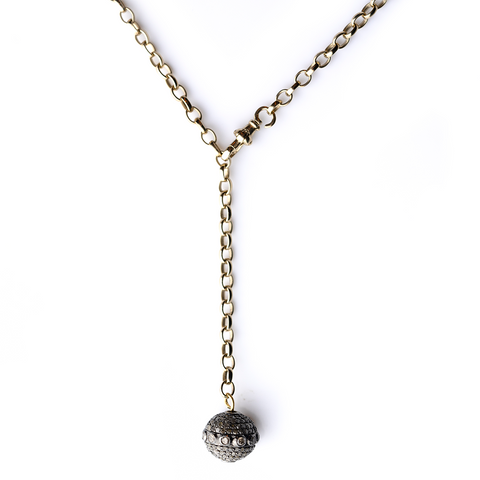 Globe Necklace - CURRENTLY OUT OF STOCK