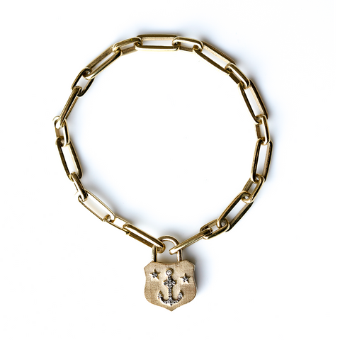 Anchor Lock Bracelet