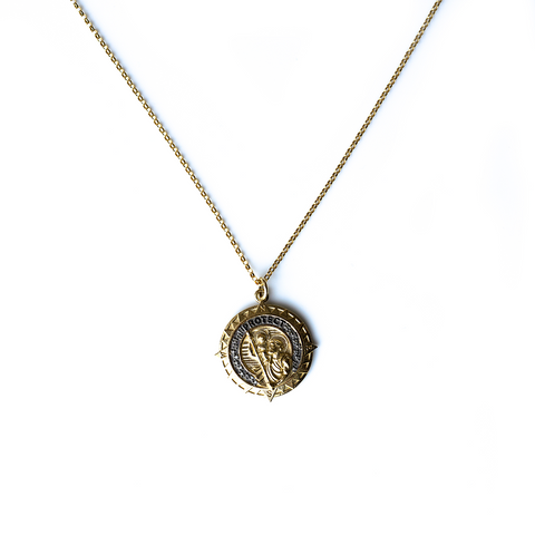 St Christopher Necklace - CURRENTLY OUT OF STOCK