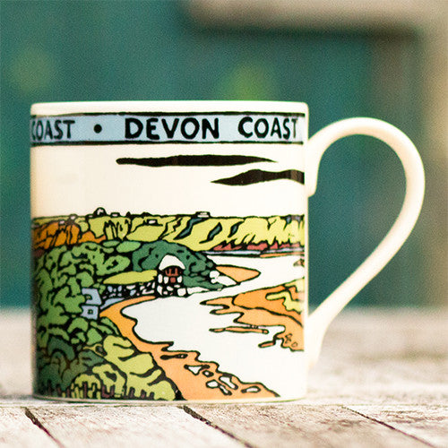 British Coast Mugs