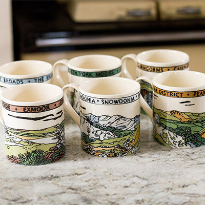 British National Park Mugs
