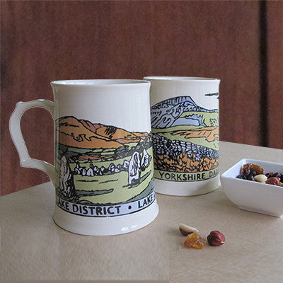 British National Park Tankards