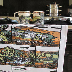 Dartmoor Tea Towel