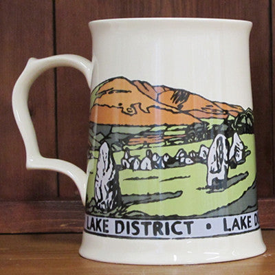 Lake District Tankard, Blencathra