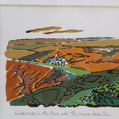 Widecombe-in-the-Moor Original Print