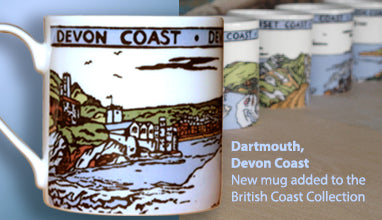 British landscape mugs