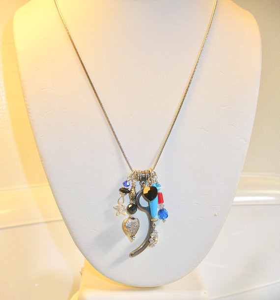 Skydiving Necklace with Colorful charms