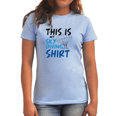 This is my skydiving shirt Women T-Shirt