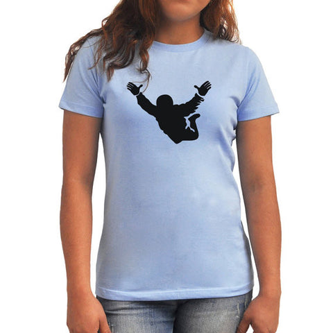 Free fall Silhouette Women T-Shirt