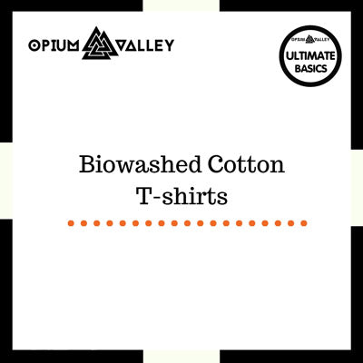 Biowashed Cotton T-Shirts