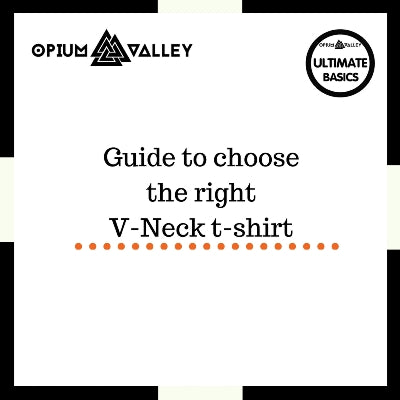 Guide to choose the right v-neck t-shirt
