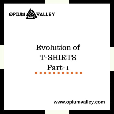 Evolution Of T-Shirts 1