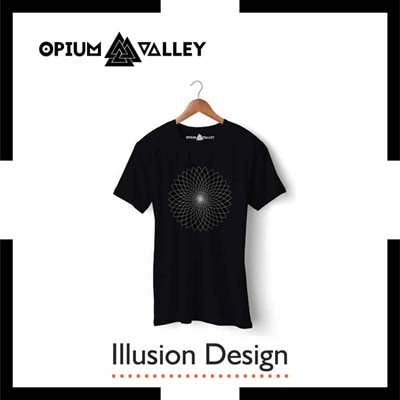 Illusion - Round Neck T-Shirts