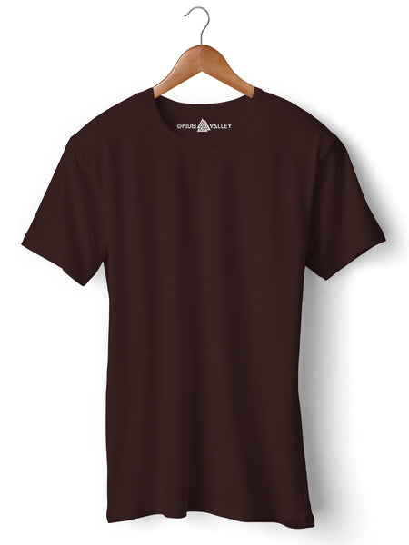 Coffee - Round Neck T-Shirt - Opium Valley