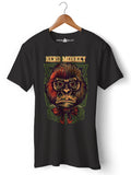 Nerd Monkey - Round Neck T-Shirt - Opium Valley