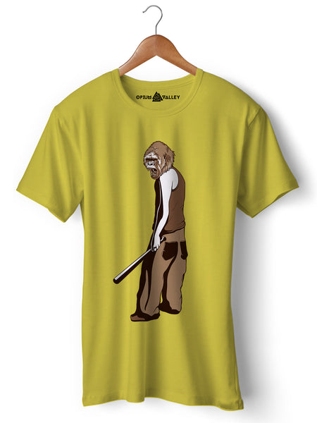 Angry Ape - Round Neck T-Shirt - Opium Valley