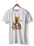 Bearly Legal - Round Neck T-Shirt - Opium Valley