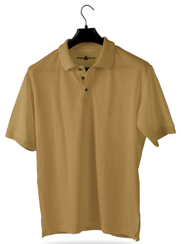 Beige- Polo T-shirt - Opium Valley