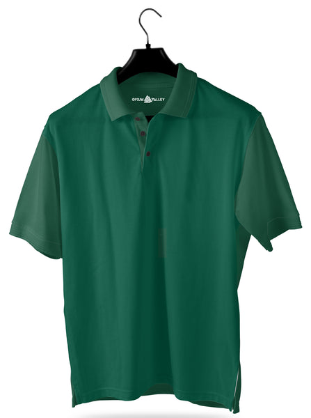 Bottle Green- Polo T-shirt - Opium Valley