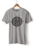 Compass - Round Neck T-Shirt - Opium Valley