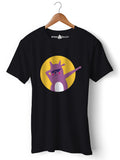 Dab Cat - Round Neck T-Shirt - Opium Valley