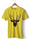 Deer - Round Neck T-Shirt