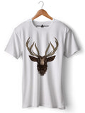 Deer - Round Neck T-Shirt - Opium Valley