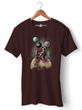 DJ Astronaut  - Round Neck T-Shirt - Opium Valley