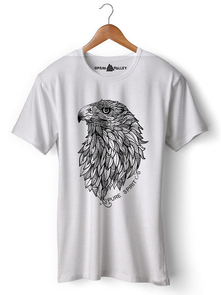 Eagle - Round Neck T-Shirt - Opium Valley