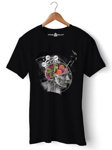 Enlightenment - Round Neck T-Shirt - Opium Valley