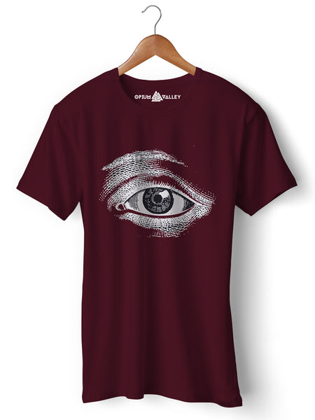 Third Eye - Round Neck T-Shirt - Opium Valley