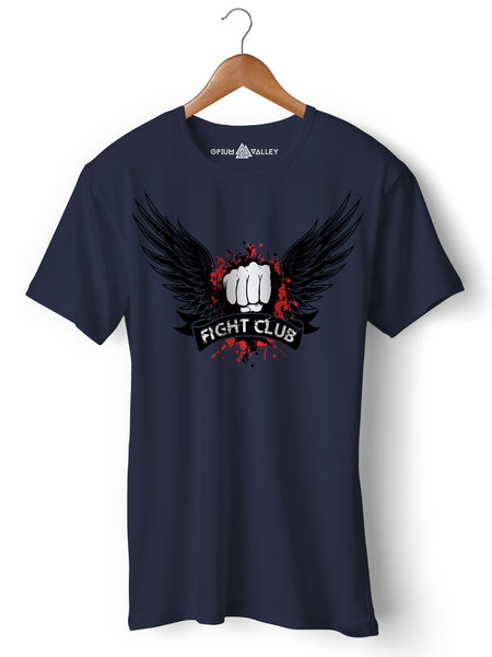 Fight Club - Round Neck T-Shirt - Opium Valley