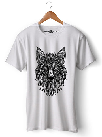 Fox - Round Neck T-Shirt - Opium Valley