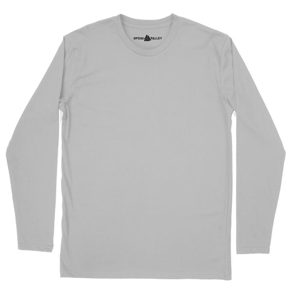 Gray Melange - Full Sleeve T-Shirt - Opium Valley