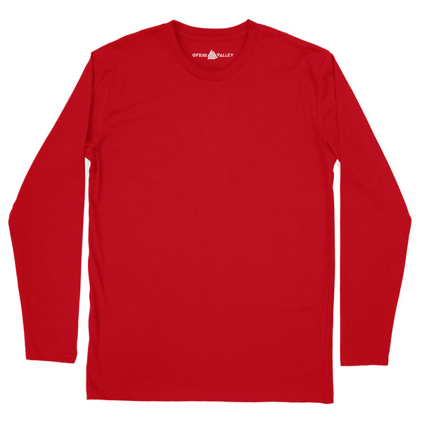 Red - Full Sleeve T-Shirt - Opium Valley