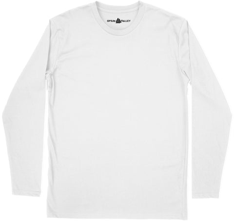White - Full Sleeve T-Shirt - Opium Valley