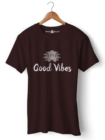 Good Vibes - Round Neck T-Shirt - Opium Valley