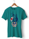 Trippy Head - Round Neck T-Shirt - Opium Valley