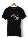High AF - Round Neck T-Shirt - Opium Valley
