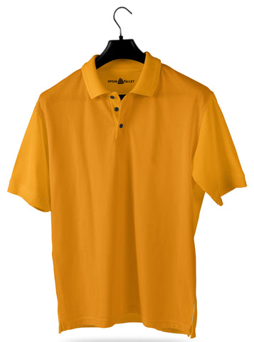 Light Orange- Polo T-shirt - Opium Valley