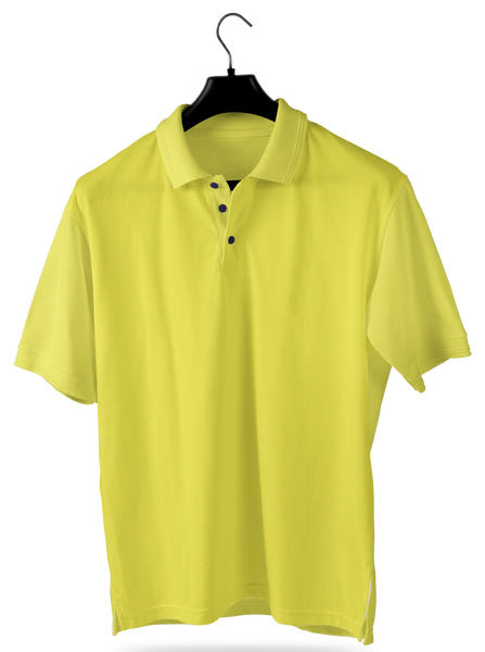 Light Yellow- Polo T-shirt - Opium Valley